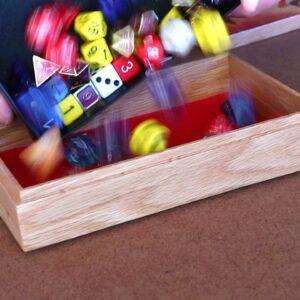 Red Dragon Dice Box