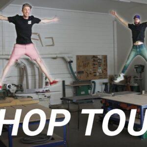 2021 Shop Tour - Foureyes Furniture