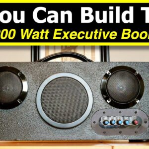 Building the Bluetooth BoomBox kit from Parts Express