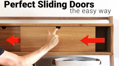 8 Tips for Perfect Sliding Doors without Hardware