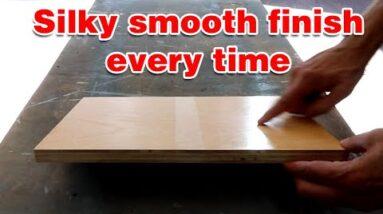 The biggest wood finishing mistake. #shorts